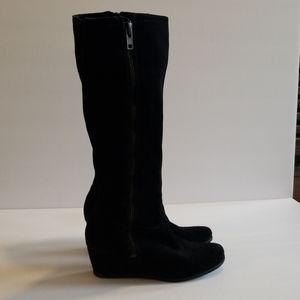 Franco Sarto suede Asher boots